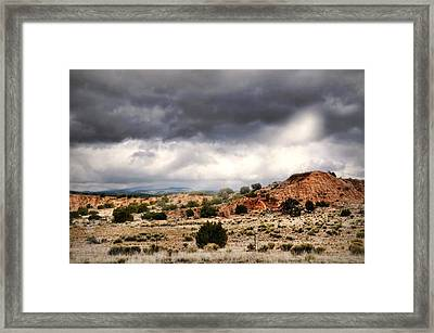 Canyon Moves Framed Print by Diana Angstadt