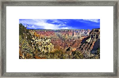 The Grand Canyon 72x35 Framed Print by Bob and Nadine Johnston
