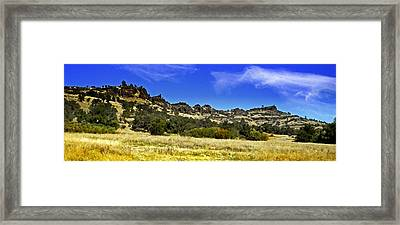 Canyon Panorama Framed Print by Frank Wilson