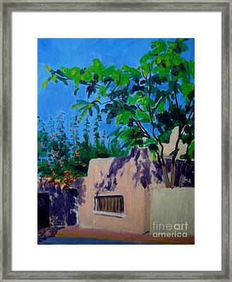 Canyon Road And Escondido Framed Print by Katrina West