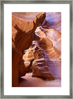 Canyon Walls Framed Print by Bryan Keil
