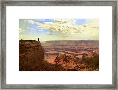 Canyon Framed Print by Cambion Art