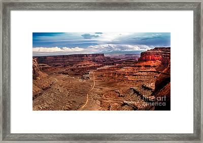 Canyonland Framed Print by Robert Bales