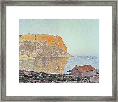 Cap Canaille Framed Print by Paul Signac
