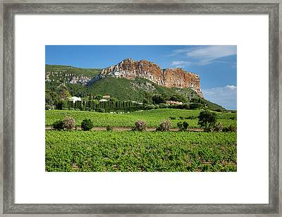 Cap Canaille, The Highest Sea Cliff Framed Print by Brian Jannsen