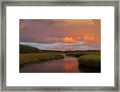 Cape Cod Bells Neck  Framed Print by Juergen Roth
