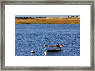 Cape Cod Charm Framed Print by Juergen Roth
