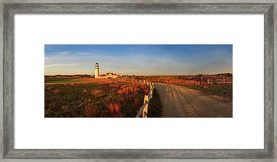 Cape Cod Highland Light Framed Print by Henk Meijer Photography