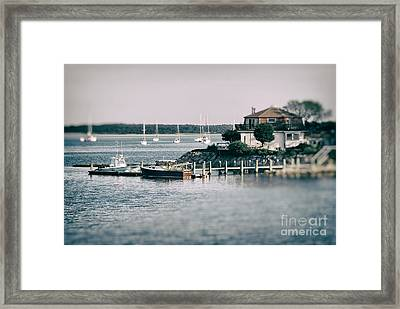 Cape Cod No2 Framed Print by Sabine Jacobs