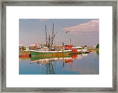 Cape Cod Scenic Framed Print by Suzanne Gaff