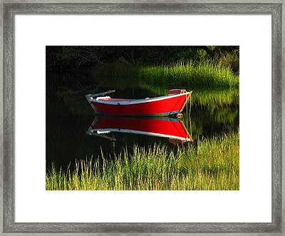 Cape Cod Solitude Framed Print by Juergen Roth