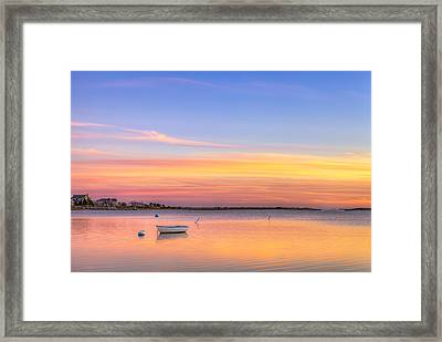 Cape Cod Sunset Framed Print by Michael Petrizzo