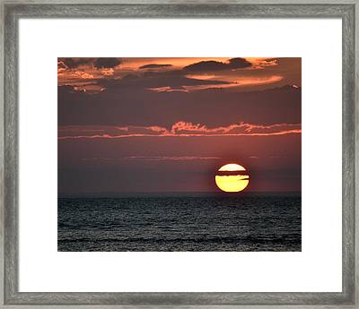 Cape Cod Sunset On Gray's Beach Framed Print by Toby McGuire
