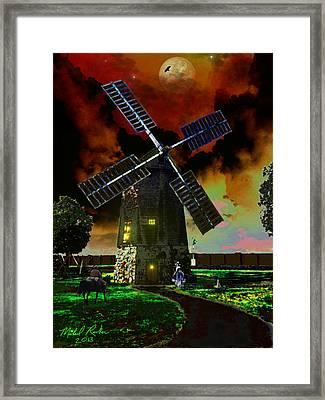 Cape Cod Windmill Framed Print by Michael Rucker