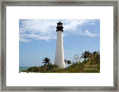 Cape Forida Framed Print by Carey Chen