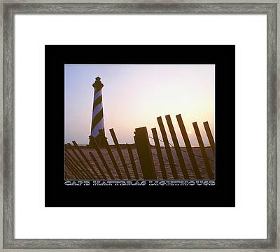 Cape Hatteras Lighthouse Framed Print by Mike McGlothlen