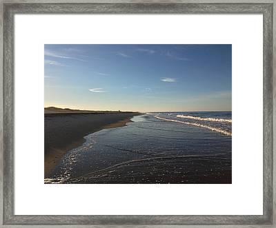 Cape Hatteras National Seashore Framed Print by Tanya Moody