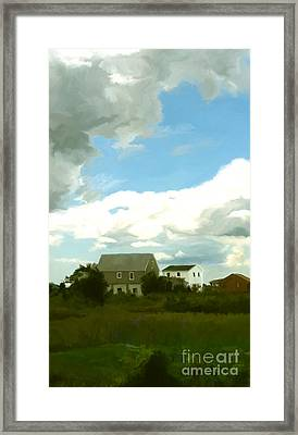 Cape House Framed Print by Paul Tagliamonte