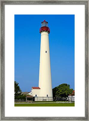 Cape May Lighthouse Framed Print by Anthony Sacco