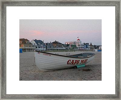 Cape May Remembered Framed Print by Gordon Beck