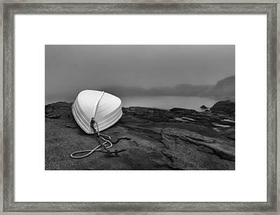 Cape Neddick Framed Print by Joseph Smith