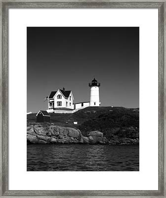 Cape Neddick Light Station Framed Print by Mountain Dreams