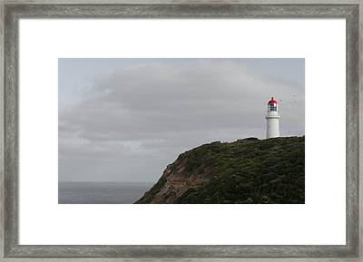 Cape Schanck Lighthouse Framed Print by Shari Mattox