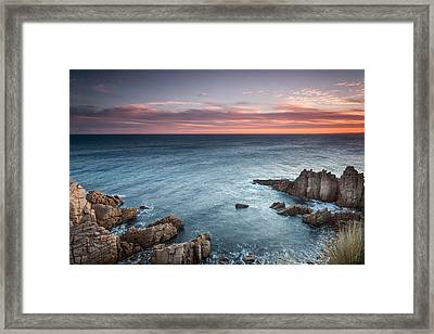 Cape Woolamai Framed Print by Shari Mattox