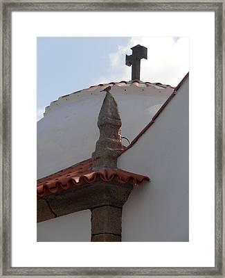 Capela De Nossa Senhora Da Guia Framed Print by Jayne Abbott Ribeiro