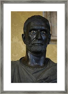 Capitoline Brutus. 4th - 3rd C. Bc Framed Print by Everett
