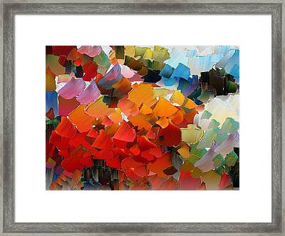 Capixart Abstract 25 Framed Print by Chris Axford