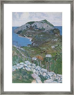 Capri, C.1904 Framed Print by Maurice Greiffenhagen