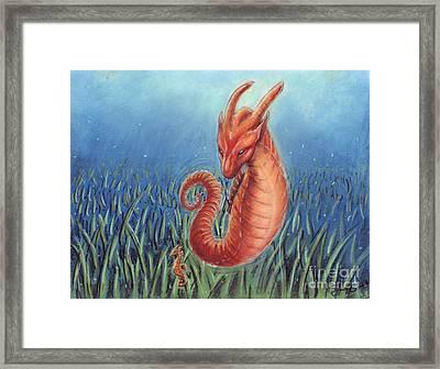 Capricorn Framed Print by Samantha Geernaert
