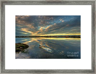 Capsized Framed Print by English Landscapes