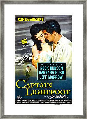 Captain Lightfoot, Us Poster, Barbara Framed Print by Everett