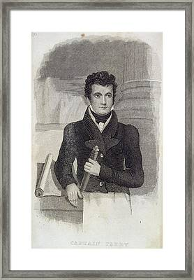 Captain Parry Framed Print by British Library