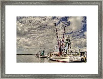 Captain Phillips Framed Print by Benanne Stiens