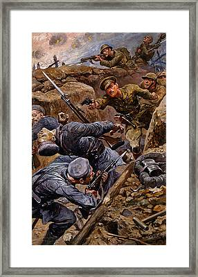 Captain Reginald James Young Winning Framed Print by Stanley L. Wood