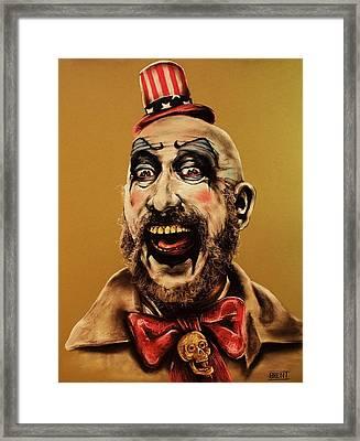 Captain Spalding Framed Print by Brent Andrew Doty