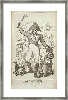 Captain Swayne Framed Print by British Library