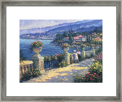 Captivating Charm Framed Print by Ghambaro