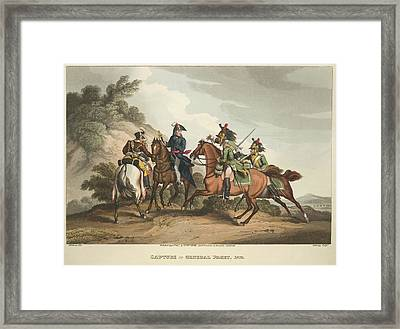 Capture Of General Paget Framed Print by British Library