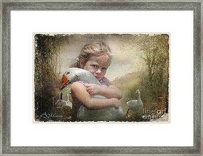 Captured Memories-not The Perfect World Framed Print by Adelita Rog