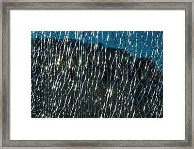 Captured Sun Framed Print by Alexander Senin