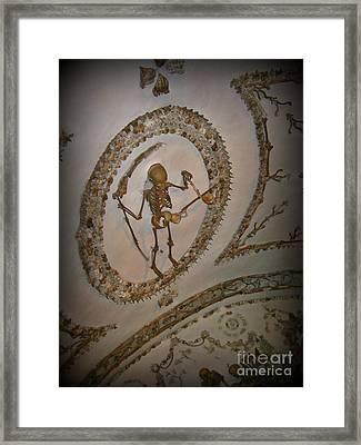 Capuchin Chapel Rome Italy Framed Print by John Malone