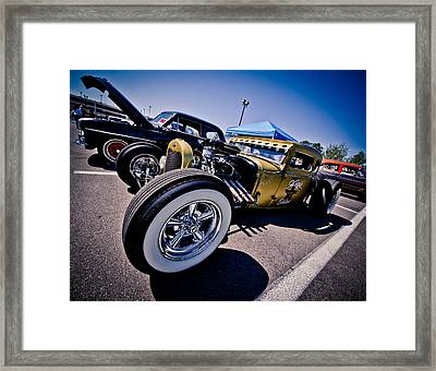 Car Candy Framed Print by Merrick Imagery