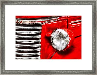 Car - Chevrolet Framed Print by Mike Savad