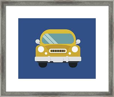 Car I Framed Print by Tamara Robinson