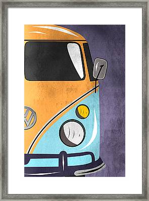 Car  Framed Print by Mark Ashkenazi