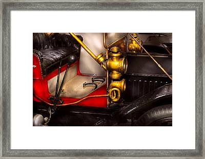 Car - Model T Ford  Framed Print by Mike Savad